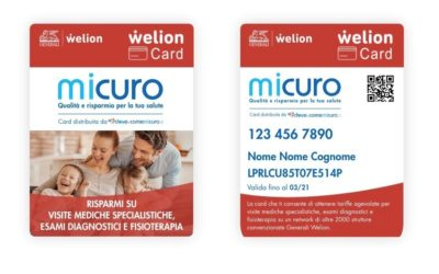 Dal 10 settembre Generali Welion promuoverà la Welion Card