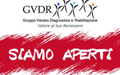 Le strutture Gvdr tornano al loro consueto orario di apertura