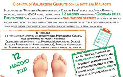 Maggio, mese della prevenzione e cura del Piede – Esauriti i posti delle valutazioni gratuite